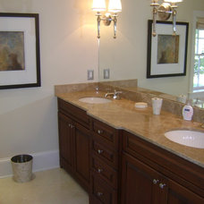 Traditional Bathroom by Home Staging Career for Less