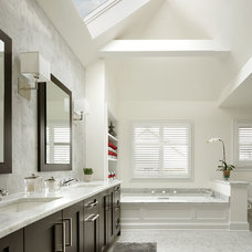 Transitional Bathroom by Ulrich Inc