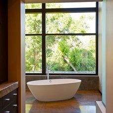 Contemporary Bathroom by miller design