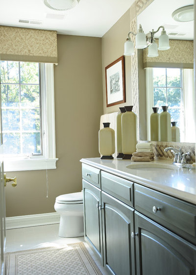 Traditional Bathroom by Gina Fitzsimmons ASID NKBA