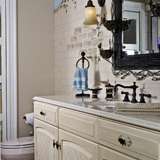 Traditional Bathroom by Gina Fitzsimmons ASID