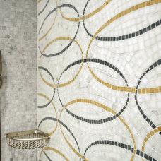 Modern Bathroom by diSalvo Interiors