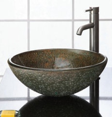 contemporary bathroom sinks by Westheimer Plumbing & Hardware