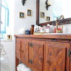 Mediterranean Bathroom by STudio -Sendy & Tal interior designers