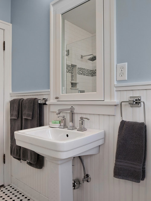 Pedestal Sink Ideas, Pictures, Remodel and Decor