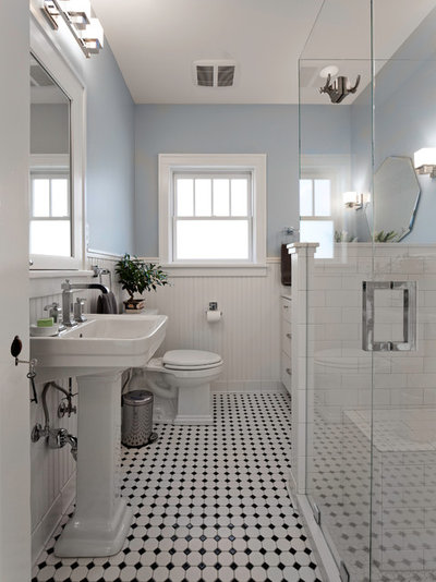 Victorian Bathroom by Christa Pirl Interiors