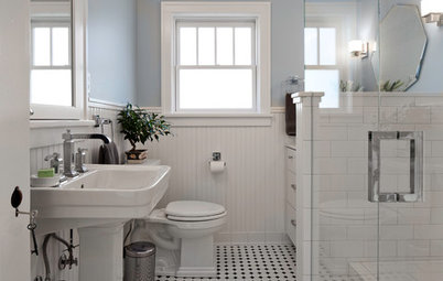 Room of the Day: Craftsman Bathroom Gets Its Good Looks Back