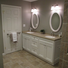traditional bathroom by B & P Distinctive Renovations, LLC
