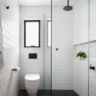 Yarraville Home - How to Maximise Space in a Small Ensuite
