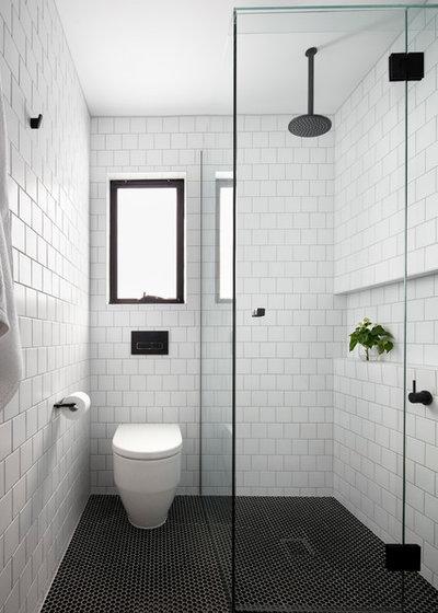 Nórdico Cuarto de baño by smarterBATHROOMS+