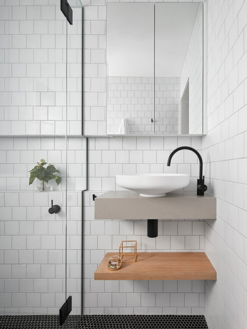 Scandinavian melbourne bathroom design ideas remodels for Bathroom decor melbourne
