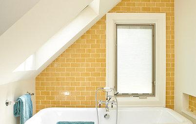 Inspiration: 10 Sprudlende badeværelser der vil friste selv de farvesky