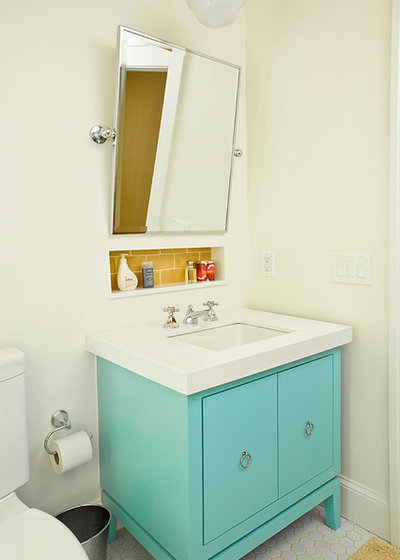 Coastal Bathroom by Alair Homes Decatur