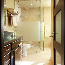 Contemporary Bathroom by Joanne Jakab Interior Design