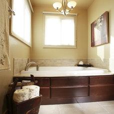 Contemporary Bathroom by Joanne Jakab Interior Design