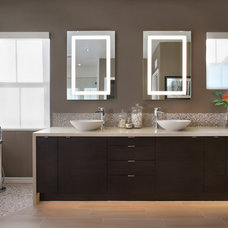 modern bathroom by International Custom Designs