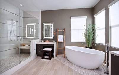 Get Creative With Your Bathroom Floor Tile