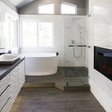 Contemporary Bathroom by Soho Kitchen Studio Inc.