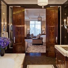 Contemporary Bathroom by Taylor Hannah Architect Inc