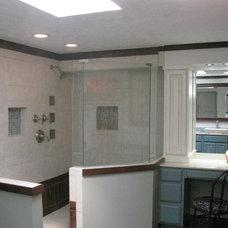 Traditional Bathroom by Tyson Designs