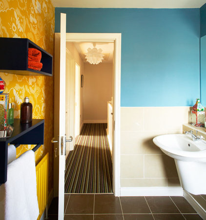 Eclectic Bathroom by Think Contemporary