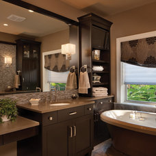 transitional bathroom by Dura Supreme Cabinetry