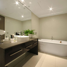 Modern Bathroom by Melbourne Contemporary Kitchens