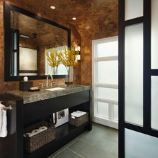 Contemporary Bathroom by Jeffrey King Interiors