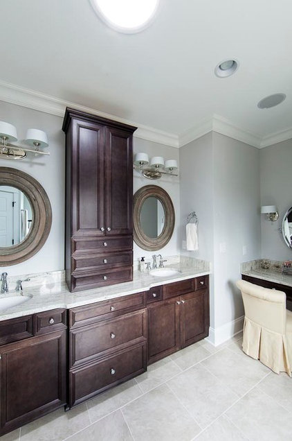 Traditional Bathroom by Jim Schmid Photography