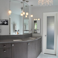 Contemporary Bathroom by Red Pepper Design & Cabinetry