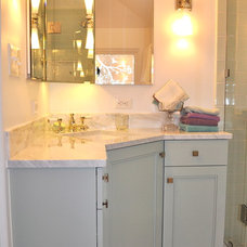 Traditional Bathroom by Red Pepper Design & Cabinetry