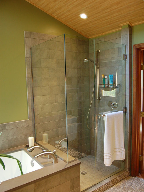 Asian indianapolis bathroom design ideas remodels photos for Bathroom remodel indianapolis