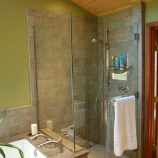 Asian Bathroom by Gavin Design