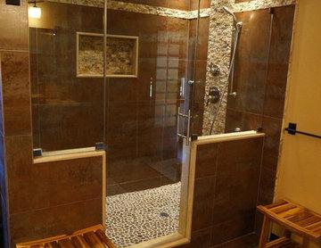 Zen Bathroom by Creative Remodeling
