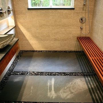 Zen Bathroom - Capitola Bathroom Addition