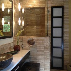 asian bathroom by Monarch Renovations