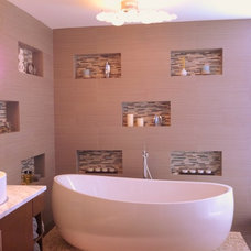 Modern Bathroom by Phyllis Mosher Designs, Inc