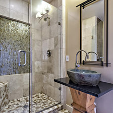 craftsman bathroom by Smart Interiors