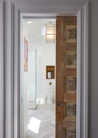 Contemporary Bathroom by Eileen Deschapelles Interior Design