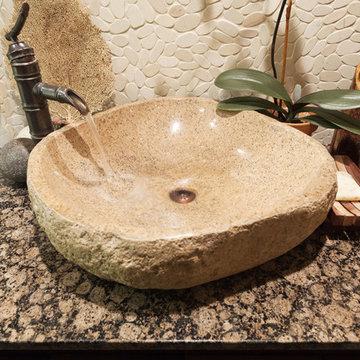 Zen Pasadena Bathroom Remodel