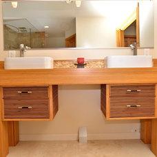 Asian Bathroom by Nassau Design Build