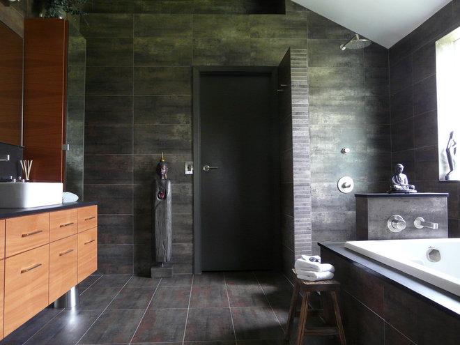 Contemporary Bathroom by Scott Haig, CKD