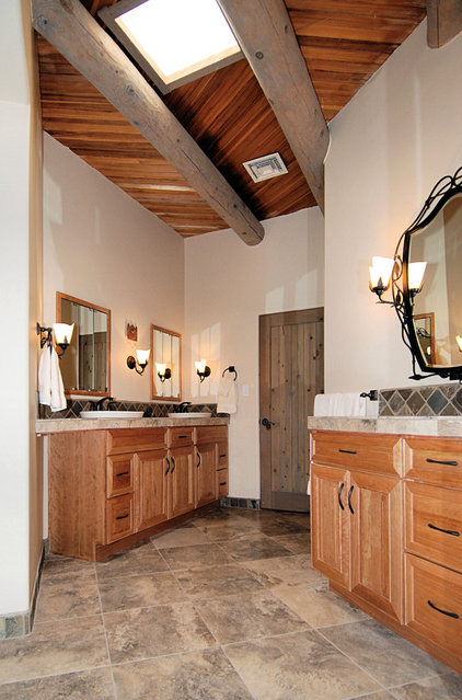 Rustic Bathroom by Zenteriors by Camian Larson
