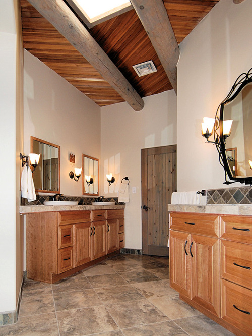 Stained Knotty Pine Houzz