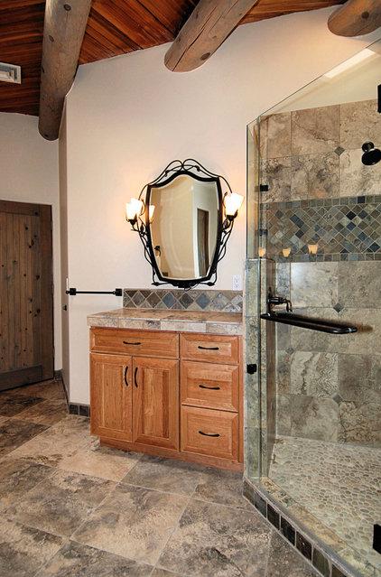 Contemporary Bathroom by Zenteriors by Camian Larson