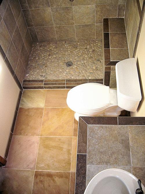 Pebble Shower Floor Houzz