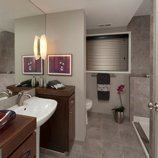 Modern Bathroom by L.EvansDesignGroup,inc