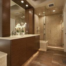 Contemporary Bathroom by Tenhulzen Residential