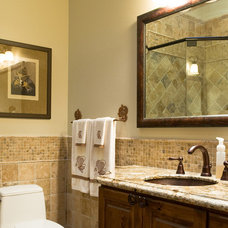 Traditional Bathroom by Burgin Construction
