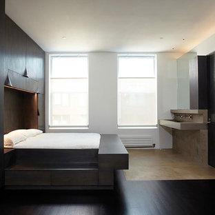 神戸のコンテンポラリースタイルのおしゃれな寝室のインテリア